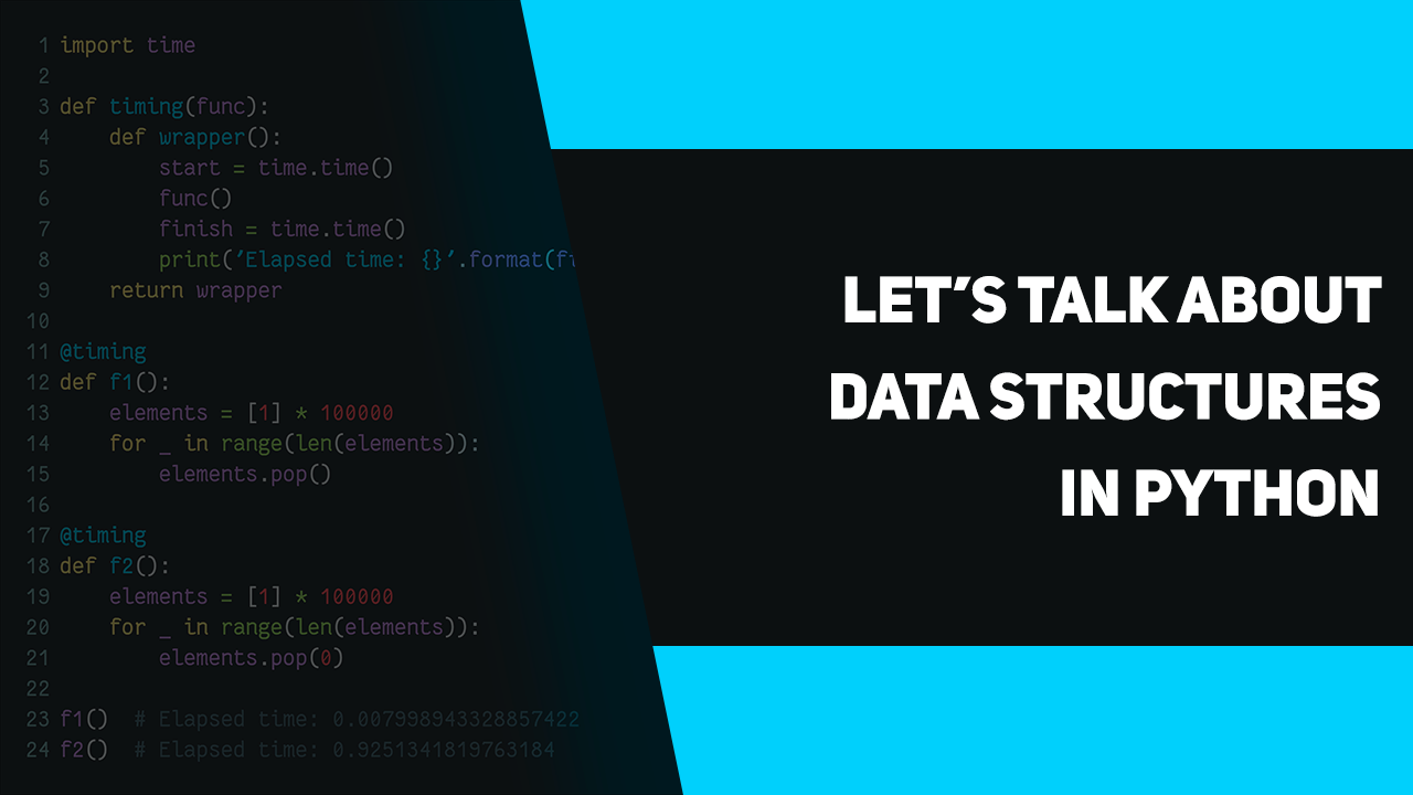 Let's talk about data structures in Python – apirobot