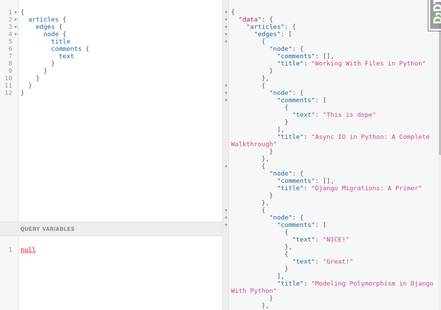 Django + GraphQL  Solving N+1 Problem using DataLoaders