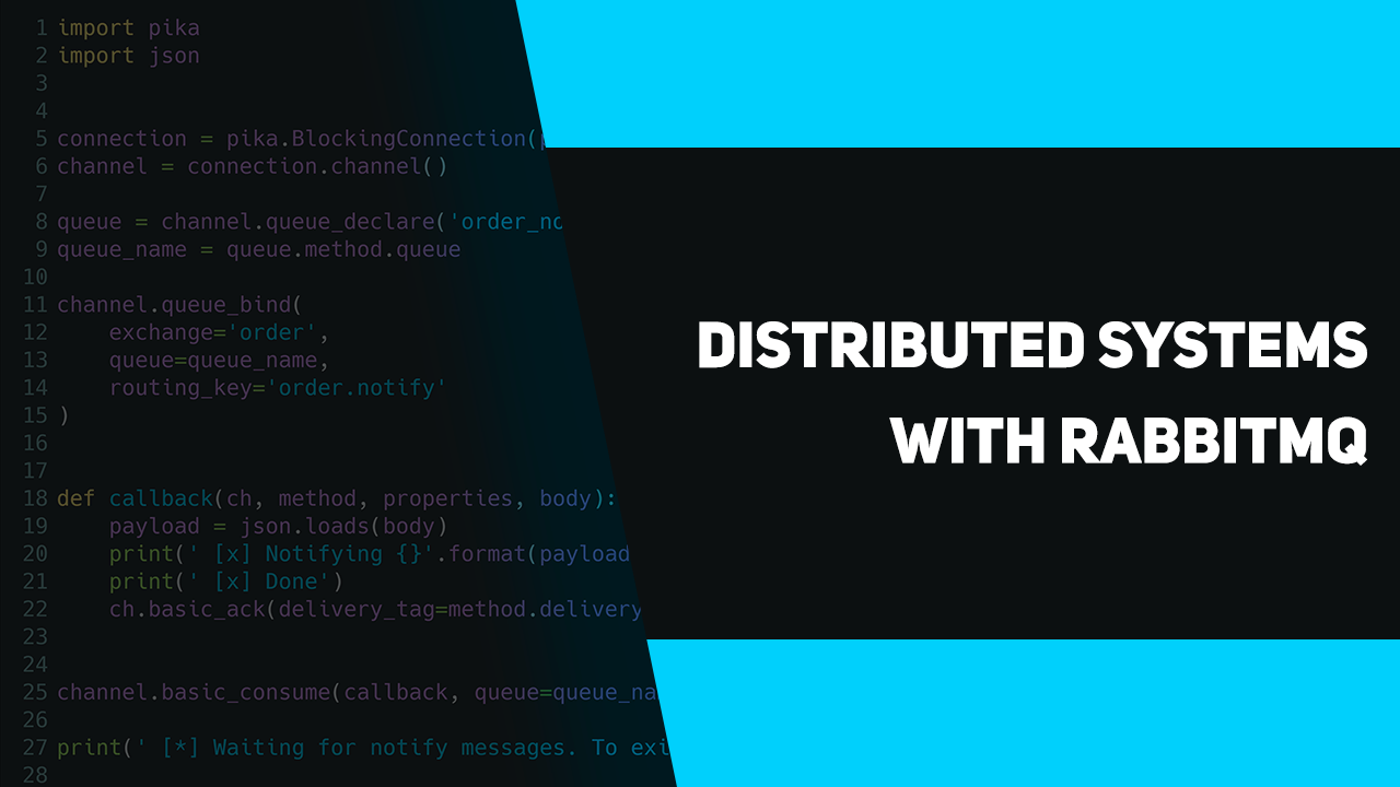 Distributed systems with RabbitMQ – apirobot
